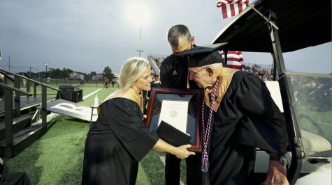 Broken Arrow Public Schools honors local WWII veteran with high school diploma