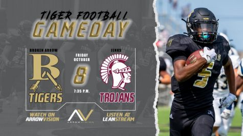 Broken Arrow Football at Jenks