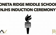 Oneta Ridge Middle School NJHS Induction Ceremony