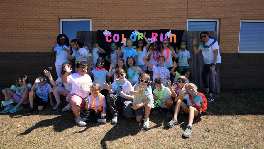 Aspen Creek Elementary Color Run