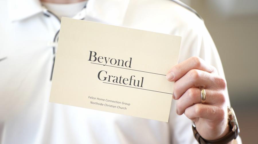 Beyond Grateful | BAHS staff receive thank you cards