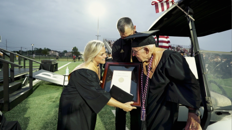 Broken Arrow Public Schools honors local WWII veteran with high school diploma
