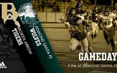 Broken Arrow Football at Edmond Santa Fe  10/23/20