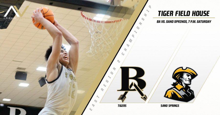 BA Basketball vs. Sand Springs | 6A East Region 2 Championship